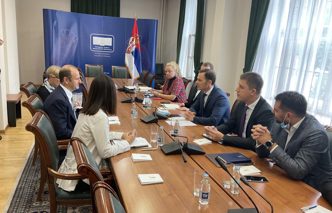 Синиша Мали разговарао са директором Светске банке у Београду Николом Понтаром