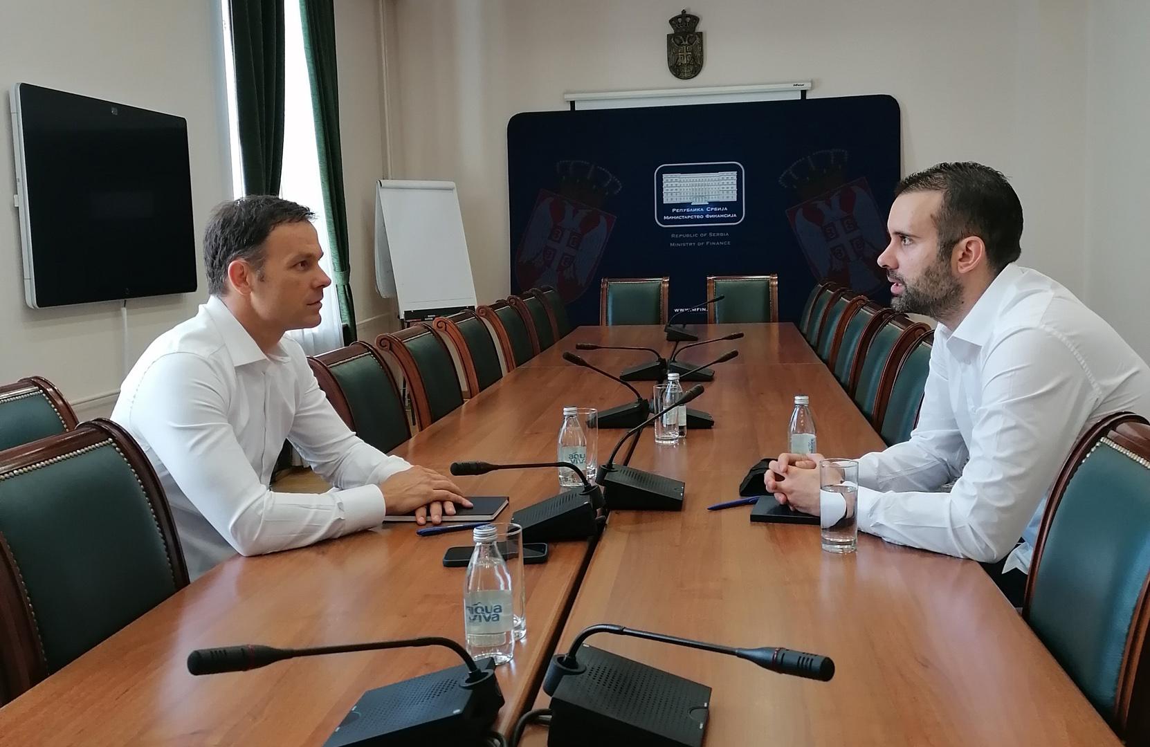 Министри финансија Србије и Црне Горе разговарали о сарадњи две земље