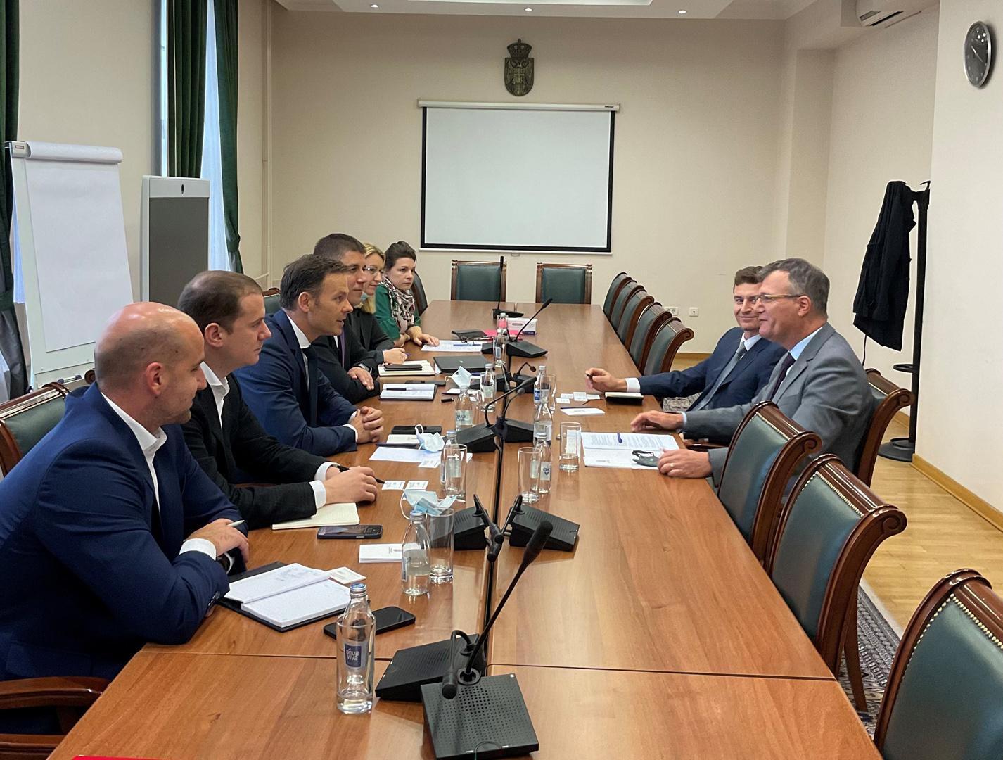 Министар финансија разговарао са амбасадором Словеније
