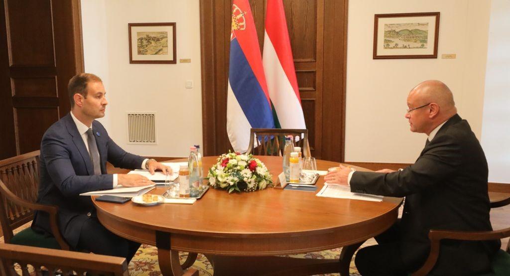 Stanivuković: Sa državnim sekretarom Mađarske o ubrzanju protoka robe i ljudi na granici